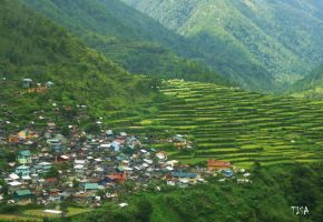TERRACES IN THE MOUNTAINS by isabelle13280