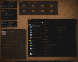 Latest Desktop Darkness Brown by psyco430404