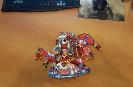 'Ling' Perler - Final Fantasy Brave Exvius by Shada60