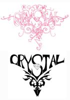 Crystal tattoos by Doyoujive