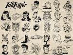 All of Inktober 2014 by SuperEdco