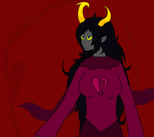 Art Request: Erisia The Witch of Heart by Ookamikororo