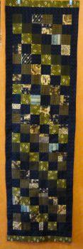 Checkered Table Runner by MysticalDreamer