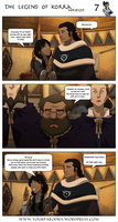 The Legend of Korra Abriged Chapter 1 - Page 7 by yourparodies