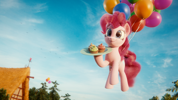 Cupcake Delivery Service by TrombonyPonyPie