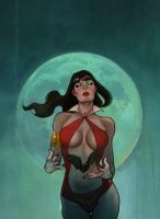vampirella colors by jfrison