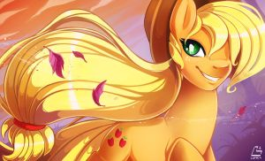 Applejack by ChocoKangoo
