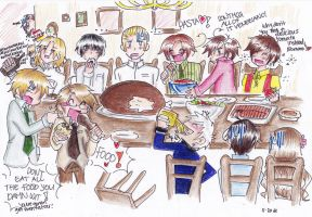 Hetalia Thanksgiving? by THE-L0LLIP0P