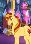 Sunset Shimmer by crescentwolf01