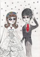 Barnabas and Vicky's wedding by NOPirateOnlyFan