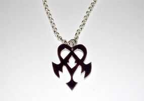 Kingdom Hearts Dream Eater necklace by knil-maloon