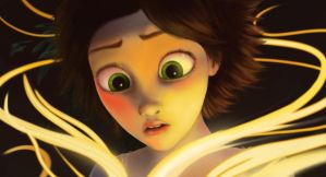 Tangled study 2 by Bariarti