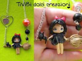 Kiki's Delivery Service Necklace by tivibi