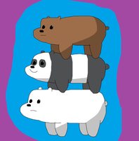 The We Bare Bears' by TXToonGuy1037