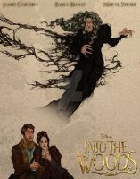 Into the Woods Poster by hwilki65