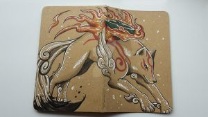 Okami by moonshadebutterfly