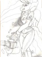 MLP Heavy Celestia :D by CollinScorpio