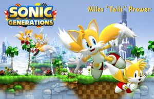 Sonic Generations - Tails Wallpaper by SaoryEmanoelle
