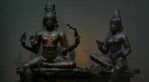 Shiva and Parvati by Mallenroh001