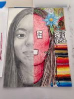 Self Portrait Realism And Surrealism by hobowendy