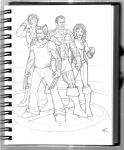 X-men Sketch by TomParrish
