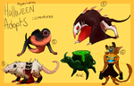 HALLOWEEN ADOPTS CREATURES AUCTION [CLOSED] by zigzaggin-goon