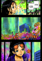 Nico Robin at the Sea Forest by StarDrummer