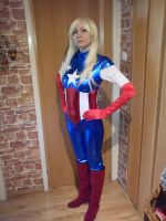 Captain America American Dream cosplay by Ophi89