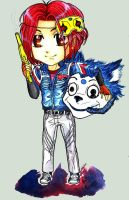 Party Poison Chibi by InoNeko