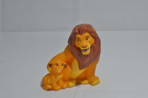 TLK collection: Mufasa and Simba Toothbrush Figure by kary218