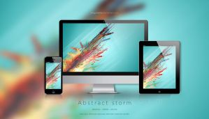 Abstract storm by dragonetty