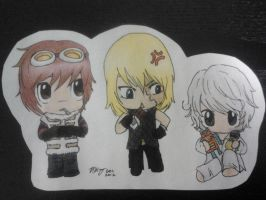 Matt, Mello, and Near by levimochi