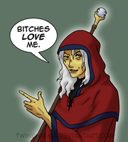 Obligatory Raistlin Fanart by TwinEnigma