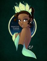 Princess Tiana by daisyein