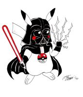 Pika-Vader by MarcusSmiter