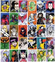 Marvel Retro Fleer official ACEO 61 to 90 by mdavidct