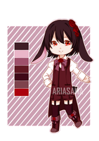 [CLOSED] ADOPT AUCTION: BLACK RABBIT by ariasama