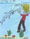 sharkys t-bone by artspaz