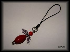 Red angel whit coral by jasmin7