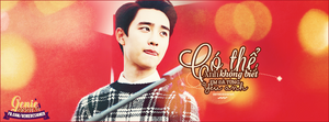 Quotes Kyungsoo #redlove by GenieDesigner