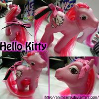 Hello Kitty by AnimeAmy by customlpvalley