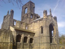 Kirkstall Abbey 19 by Fea-Fanuilos-Stock