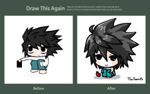 Draw this again contest: L by TimTam13