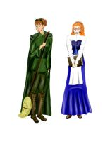 Mairead and Moira by BeatrixBonnie