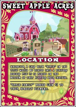 MLP:FiM Card Game: Sweet Apple Acres by PonyCardGame