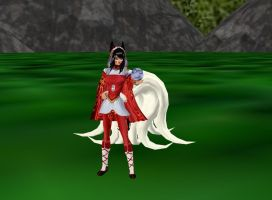 Ahri New Outfit by dragonzero1980