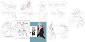 WIPs - May, may not finish by sassie-kay