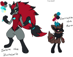 Adopted Fusion Pokemon by Faith-Wolff