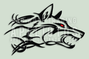 Bad Wolf Trading Logo by Apeliotus