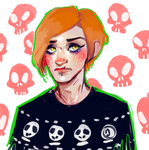 a self-portrait because why not by Pinzette